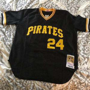 Barry Bonds Pirates throwback Jersey size L